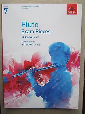 Grade 7 Flute Exam pieces with Piano Accompaniment 2014-2017 *NEW*