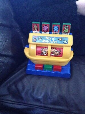 Vintage Tomy mix n match Ark Baby Toy 1989