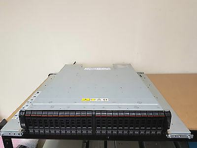 IBM STORWIZE V7000 14.4TB 2U Expansion Enclosure 24x 600GB 10K SAS 2076-224 SFF