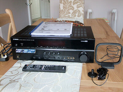 Yamaha RX-V367 100 Watt/channel 5.1- Channel AV Receiver w/Remote