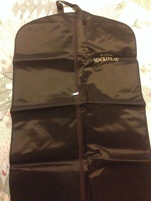 Mackinlay Whisky Suit Carrier Unused.