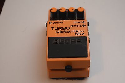 Boss Turbo Distortion DS2 Effects Pedal