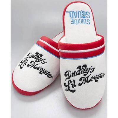 Suicide Squad - Harley Quinn Daddys Lil Monster Mule Slippers New & Official
