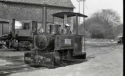 (LB004) Narrow Gauge Steam 'Rishra' at Leighton Buzzard - 35mm Negative