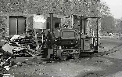 (LB003) Narrow Gauge Steam 'Pixie' at Leighton Buzzard - 35mm Negative