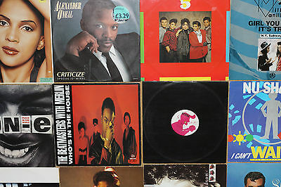 "Vinyl Records Job Lot - 20 x 12"" Singles - Soul/Dance - All Listed"