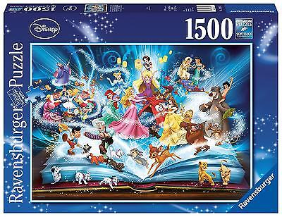 Ravensburger - Disney's Magical Storybook - 1500 Piece Jigsaw Puzzle NEW