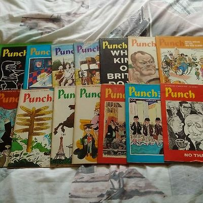 Punch Magazine Bundle 14 Issues all from 1974