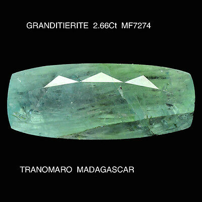 GRANDIDIERITE RARE GEMSTONE 2.66Ct  MF7274