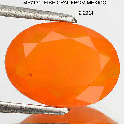 "OPAL ""FIRE"" VARIETY WITH TRANSPARENCY 2.35Ct  MF7171"
