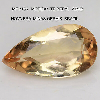 MORGANITE BERYL NATURAL MINED STONE 2.39Ct  MF7185