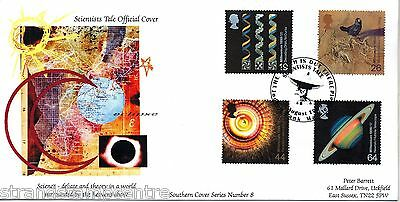 1999 Scientists - Barrett Southern Cover Official - Jodrell Bank H/S