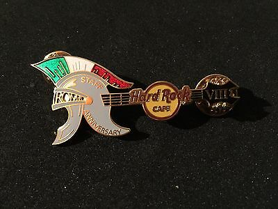 Hard Rock Cafe Rome 8th Anniversary STAFF Pin