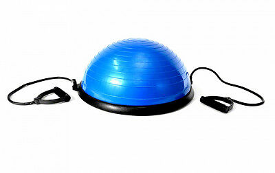 Bosu Ball Balance Wobble Board Rehab Yoga Training Fitness Home Gym Pilate Steps