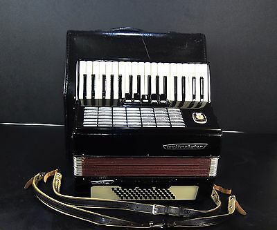 TOP GERMAN PIANO ACCORDION WELTMEISTER STELLA 60 bass,8 reg.+CASE~USD $1 AUCTION