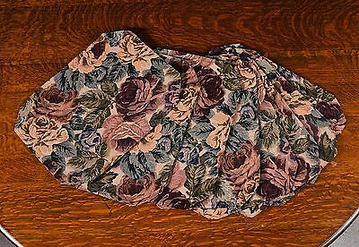 Set Of 8  Placemats - Rose Tapestry