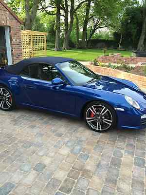 2011 Porsche 911 Carrera 4 S Cabriolet Pdk S 997 Turbo Bodied Blue
