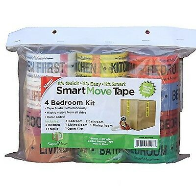 4 Bedroom Labeling Tape Living Room Packing Tape Bathroom Moving Supplies