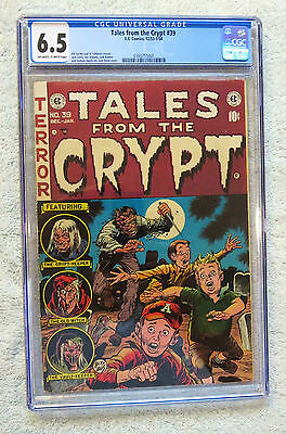 Tales from the Crypt #39 (Dec 1953-Jan 1954, EC) CGC 6.5