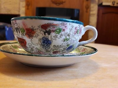 Chinese cup & saucer