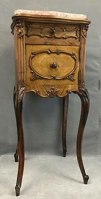 Antique French Provincial style end table Lot 100