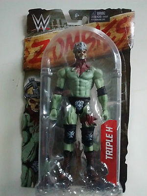 WWE Zombies Action Figure Triple H (DNY67) - Brand New & Sealed