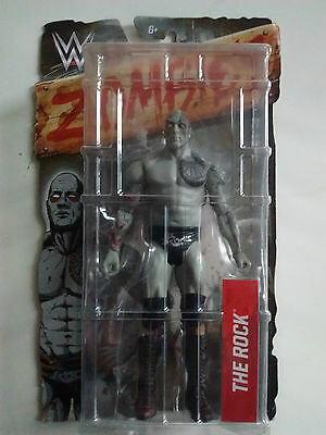 WWE Zombies Action Figure The Rock (DNY66) - Brand New & Sealed