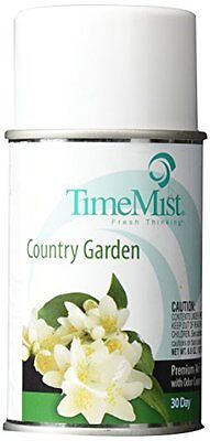 Lot Of 12 TimeMist Metered Aerosol Fragrance Dispenser Refills Country Gardens