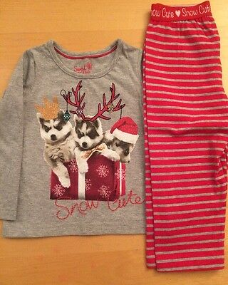 M&S Pure Cotton Christmas Pjs. 18-24 Months. New
