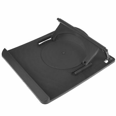Laptop table stand desk tray cooling holder with 360 swivel base