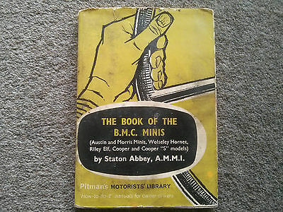 The Book of the BMC Minis - Pitmans - Includes Hornet, Elf, Cooper and Cooper S