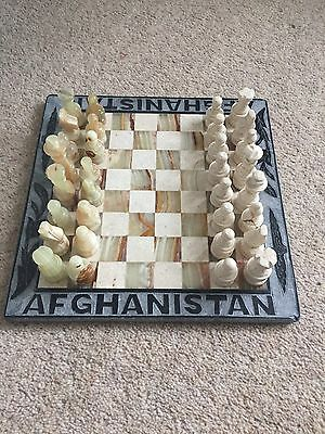 Hand Made Marble Chess Set