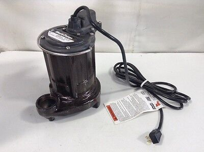Liberty Pumps 250 - 1/3 HP Cast Iron Submersible Sump Pump (Non-Automatic)