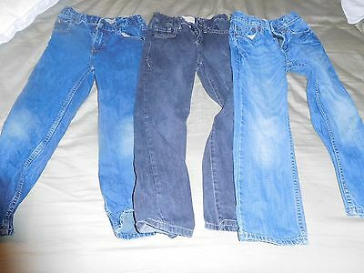 Lot of Three Boys Size 7 Jeans- Gap and Children's Place