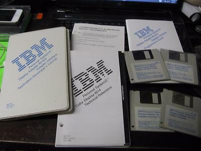 Vintage Ibm Ps/2 Display Adapter 8514/a  & Interface Reference Guide & Software