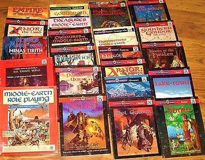 Middle Earth Rolemaster MERP RPG 1st / 2nd Edition book  Select 1   VGC - Hobbit