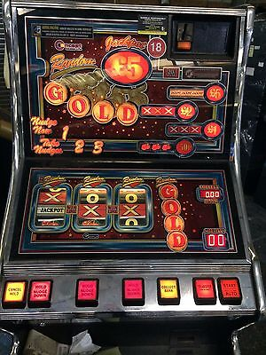 Fruit Machine Random Gold £5 Jackpot Delivery Possible