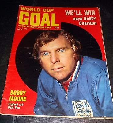 Goal Football Magazine May 30 1970 Mexico World Cup Guide
