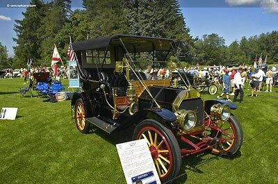 1910 Other Makes Model 35 Touring 4 door 1910 Imperial Model 35 Touring Car with Rotisserie Restoration