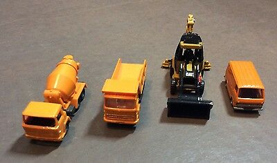 N Scale Construction Vehicle And Truck Lot