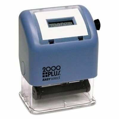 Cosco 2000 Plus ES Dater Easy Select Stamp, Date Only, Black (011091)
