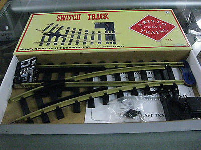 Aristocraft #1 Gauge #11215  Remote SWITCH TRACK LEFT - New in Box