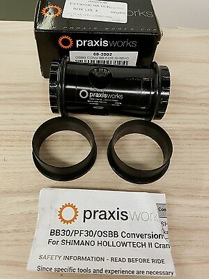 Praxis Works Osbb Conversion Bb For Shimano Hollowtech Ii