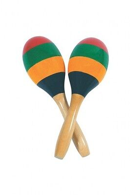 Performance Percussion Pp6007 Striped Wood Maracas