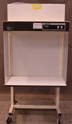 "36"" Labconco 36000 Sterilebench Filtered Laminar Clean Bench on Stand Enclosure"