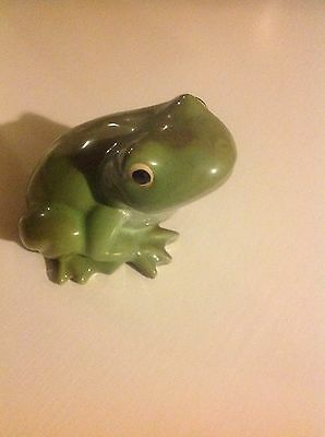 Large Pottery Frog