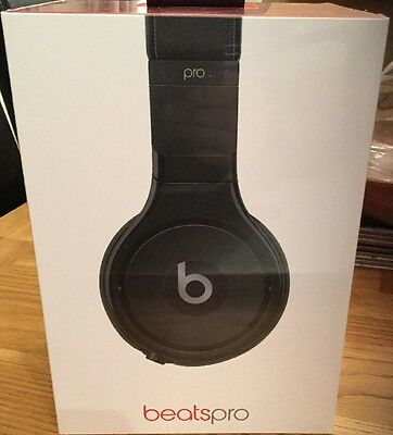 Genuine Beats by Dr. Dre Pro Wired Stereo Headset Infinite Black *BNIB*