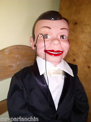 Charlie McCarthy puppet ventriloquist doll  fully working order