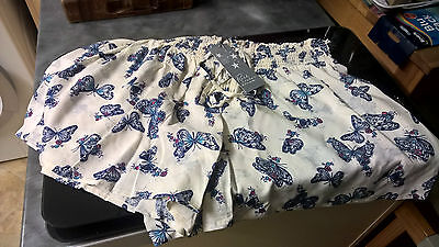 Gorgeous Marks & Spencers Butterfly Ladies Pyjamas Bottoms/shorts,size 8 ,bnwt!