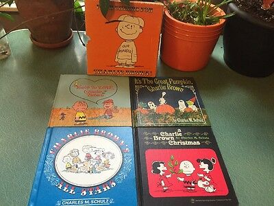 Four Cheers For Charlie Brown Set Of 4 Vintage Books